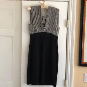 A two toned Max studio dress